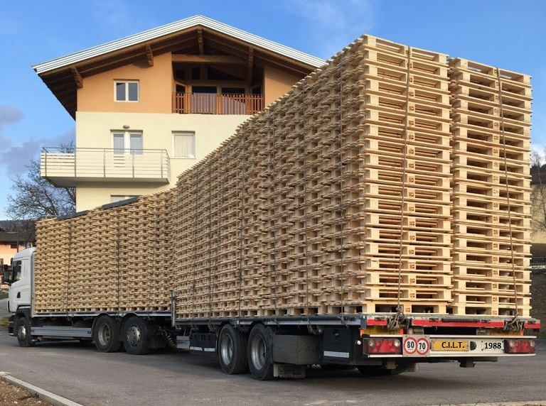 Camion Pallets
